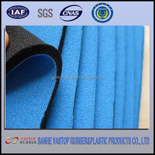 SGS Wholesale Neoprene Sheet with Blues Jersey