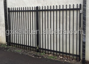 ornamental iron fence / Cheap Wholesale Galvanzied Used Wrought Iron Fencing For Sale
