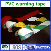 colorful floor warning tape/caution tape and marking plastic pvc tape