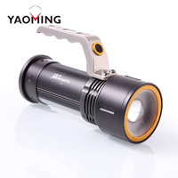 2017 Hot Sale Handle 18650 Super Bright 3 Brightness Modes Rechargeable Torch Light Led Flashlight