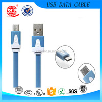 5 Pin micro usb data flat cable for Android