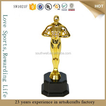 wholesale plastic oscar statue replica trophy metal replica oscar trophy awards