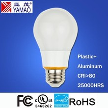 Yamao UL FCC Energy Star High Quality Cheap Price A19 9W LED Light Bulb