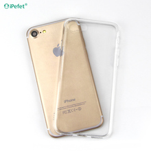 iPefet cellphone plastic transparent clear hard case for iPhone 7 for huawei