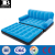 high quality inflatable doubel sofa bed durable flocked plastic inflatable folding sofa bed inflatable fold down couch bed