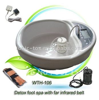 Detox foot spa WTH-106 with CE certificates Enhances Memory