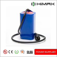 7.4v Rechargeable li-ion18650 battery pack 4400mah