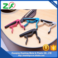 Cheapest and high quality China factory ECO-friendly Aluminum alloy oem guitar capo