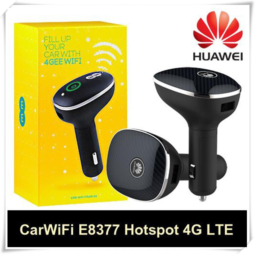 Huawei E8377 Original Unlocked 150 Mbps 4G LTE Car Wifi Wireless Router With Sim Card slot