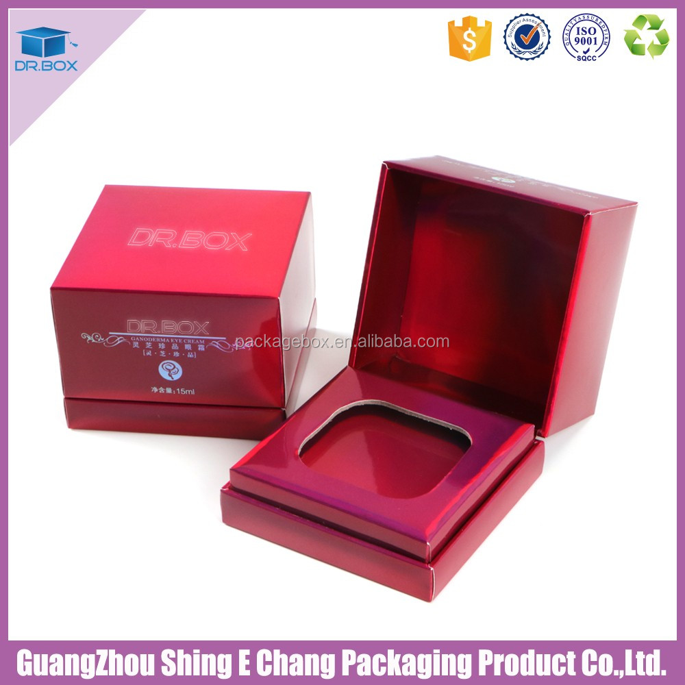 Guangzhou packaging box manufacturer silver foil paper printing uv offset printing ink for small box cosmetic