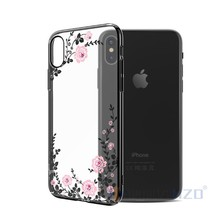 Kingxbar Diamond Case For iphone X Bling Bling Diamond Hard PC Case For Iphone X HD-1007