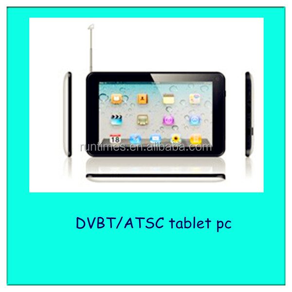 7inch ATSC DVB-T2 Dual Core Digital TV Tablet PC