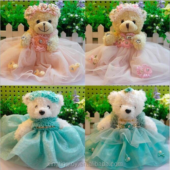 2017 valentine gifts bridal bouquets doll teddy bouquet from toys