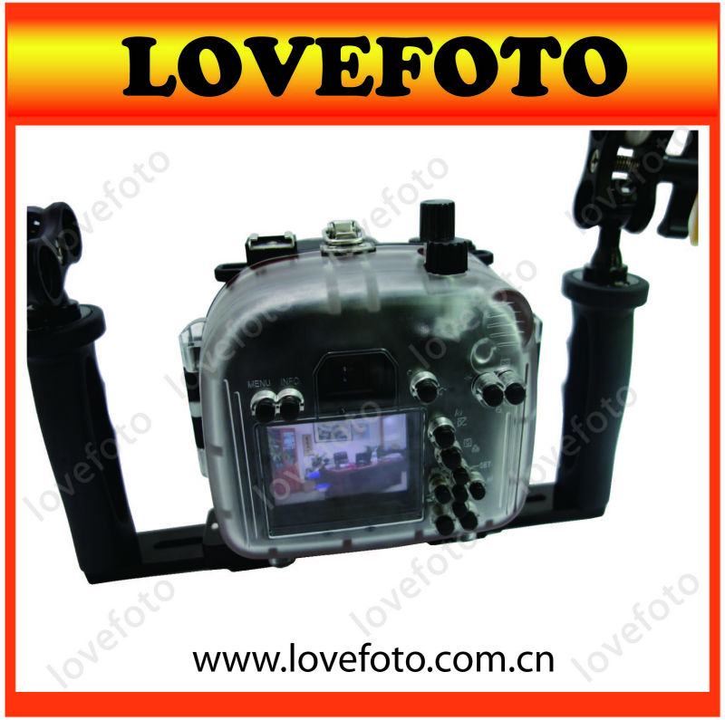 2013 Newest Camera waterproof Case For Canon 600D DSLR