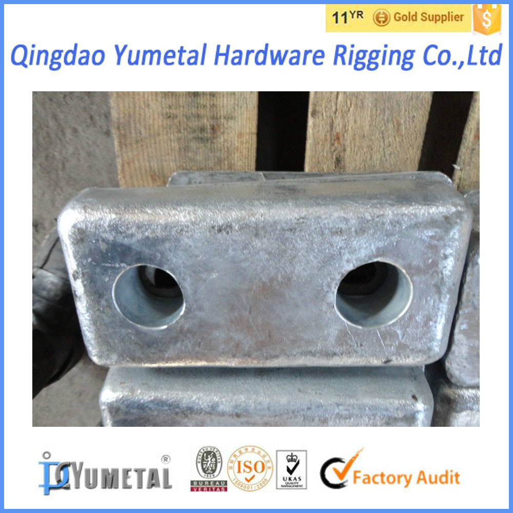 Zinc Sacrificial Anode for Cathodic Protection and Anti Corrosion