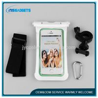 waterproof pvc beach bag for mobile phone ,cl065, High quality IPX8 for samsung note 3 waterproof bag