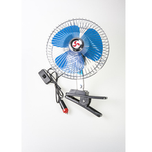 Well Priced auto cool solar power car fan 9 inch oscillating clip 60 strips full seal