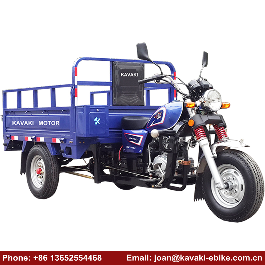 Chinese Mini 3 Wheel Motorcycle Tricycle with Motor and Trike Rear Axle for Passenger and Cargo Use