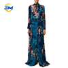 /product-detail/wholesale-long-sleeve-stand-collar-belted-waist-velour-maxi-dress-women-elegant-floral-dress-60698400489.html
