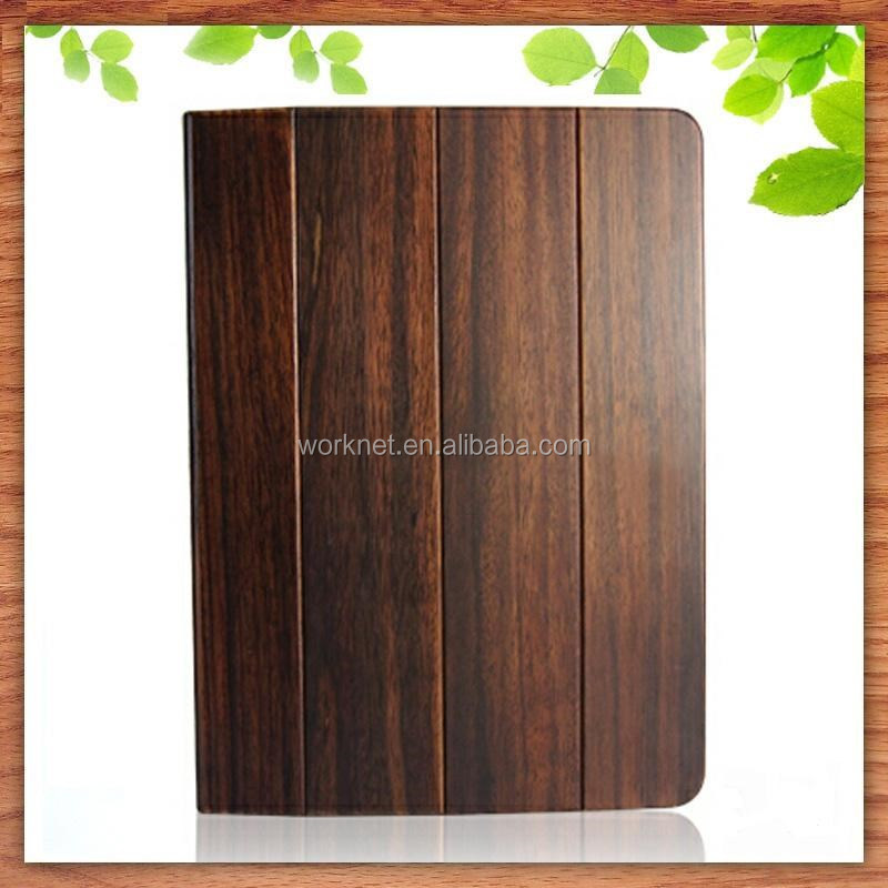 wholesale fancy wood flip cover for ipad mini cute case