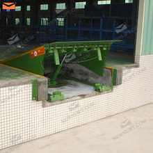 stationary yard ramp/ hydraulic dock leveler
