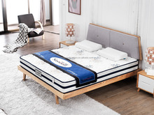 Simple Design Ash Solid Wood Bed With Mattress