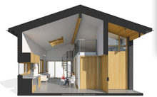 Econova Prefabricated Granny Flat with New Energy for Canada
