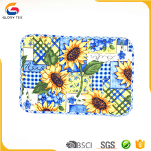 China factory 100% cotton printed dining table plate mat