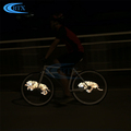ABS silicon 416 leds programmable bike wheel lighting cycling tire led light