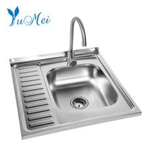 OEM design hot sale stainless steel 304 double bowl rv kitchen steel sink