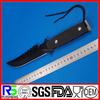 Popular sweden style tactical combat hunting knife with nylon sheath
