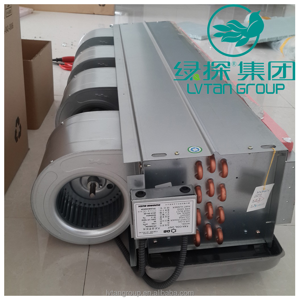air condition industrial water pipe fan coil unit /fan coil