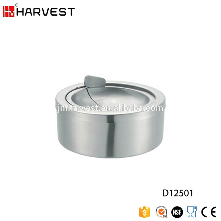 Stainless Steel Pocket Ashtray With cover