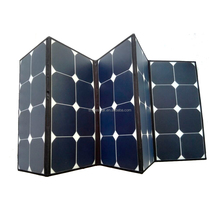 Portable 100 Watt 120W Sunpower Folding Solar Panel Manufacturers In China
