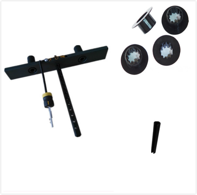 Fitness Equipment Parts: Plastic Gym Parts For Steel Weight Stack Weight Stack