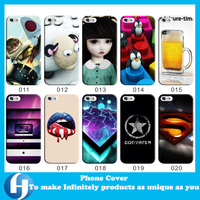 No moq custom design your own raised phone case for iphone 6