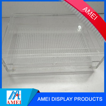 rectangle modified acrylic vase table stand solid surface oem factory