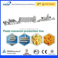 CE approved new type macaroni food making machine