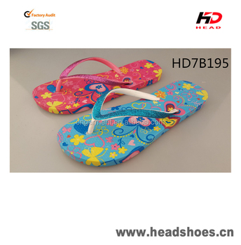 summer beach PCU PVC comfortable colorful bright gorgeous nice fashion newest model women flip flops