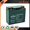 Newest low price latest 12V 17ah solar storage battery