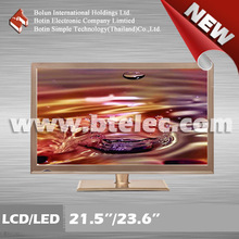 New model golden 21.5/23.6 inch used LED TV
