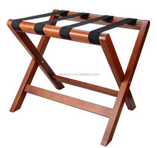 Hotel Guest Room Wooden Luggage rack