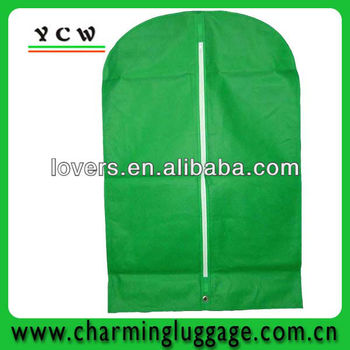 breathable non woven garment bag for wedding dress