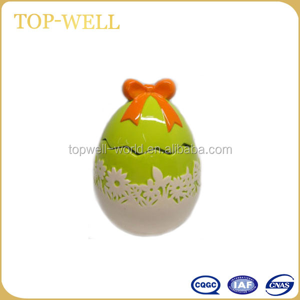 2017 New Decorative Painted Ceramic Wholesale Easter Eggs
