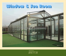 Top Quality Simlple Design Aluminum Alloy Tempered Glass Sunroom with Factory Price