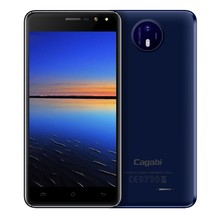 Cagabi One MTK6580A Quad-core up to 1.3GHz 3G Android 6.0 China 5'' 2.5D Screen Low Cost Smartphone 5+13MP 2200mAh GPS+AGPS