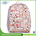 fashion full printed diaper bag backpack waterproof nylon baby diaper backpack