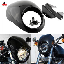 Motorcycle Modification Accessories ABS Headlamp Fairing For Harley Davidson