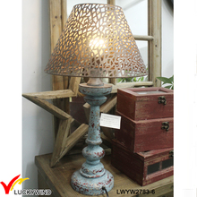 Vintage Style Made in China Decorative Wood Table Lamp