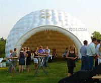 Hot selling outdoor inflatable tent, white wedding inflatable igloo tent K5038
